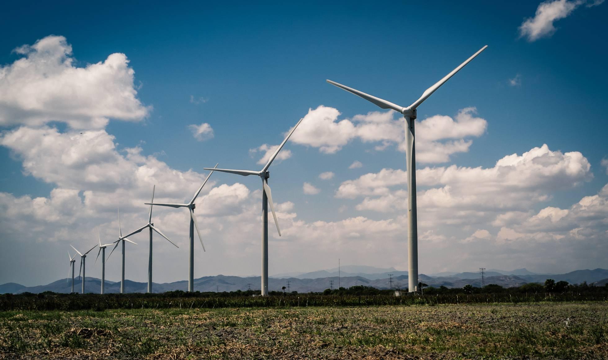 Molinos generadores de energía eléctrica. GETTY